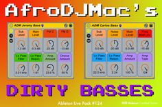 Gritty Messy Harsh  Nasty Dirty Basses: Free #Ableton Live Pack #124