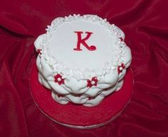 A 65th Birthday cake a made for Karin a lady I volunteered with. She said it was the best cake anyone had ever made for her. :)
