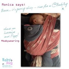 Bug in a rug, is the best with any sling or baby carrier.