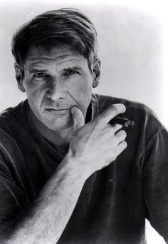 Black and white Portrait - Harrison Ford Harrison Ford, Famous Cigars, Don Corleone, Cigar Men, Cigar Girl, Good Cigars, Man Smoking, Cigar Smoking, Foto Art