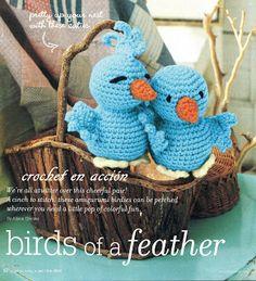FREE Blue Bird Amigurumi Crochet Pattern and Tutorial. FREE PATTERN 5/14.