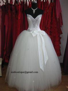 Cinderella Wedding Dress | Tulle Ball Gown Wedding Dress | Fairytale Wedding Dress | Fairytale  Prom Dress | Cinderella Princess Prom Dress on Etsy, $399.00