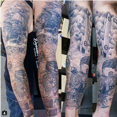 Resultado de imagen para barcos tattoo mangas