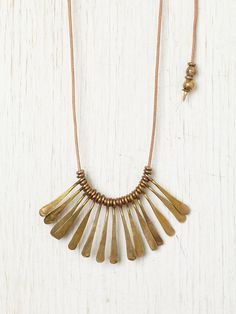 Marisa Haskell Northridge Necklace from Free People (really like this but smaller and much shorter)