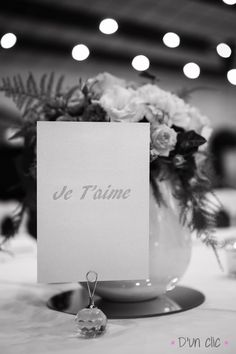 Photo #mariage #jetaime #plandetable