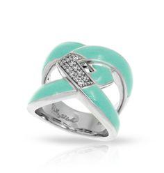 Amazon Aquamarine Ring by Belle Étoile.  Silver Jewelry.  Fashion Jewelry.  Turquoise Fashion.