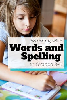 Working with Words and Spelling in Grades 3-5 – We have developed four resources that will help you teach word work and spelling to your students in a fun and engaging way. No more pre-test Mondays and post-test Fridays! That is a thing of the past!: