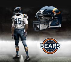 chicago bears new uniforms 2015 - Google Search