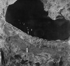 US Air Force dropping bombs on #Alaska, Kiska Island Japanese occupied  #WWII