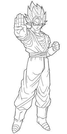 Dragon Ball Goku Coloring Page