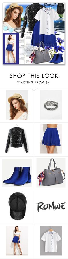 """www.romwe.com-L-1"" by ane-twist ❤ liked on Polyvore featuring VIVETTA, romwe and DusterCoats"