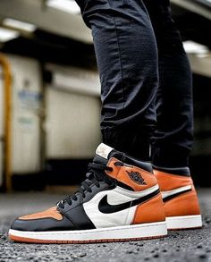 premium selection 186a6 4a9e8 Nike Air Jordan 1 Shattered Backboard - Tags  sneakers, hi-tops, orange