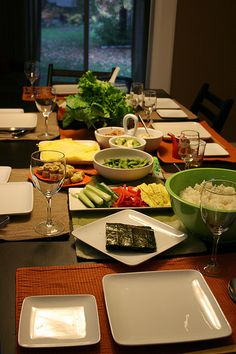 How to Prepare for a Temaki (Hand Roll) Sushi Party « JAPAN Style