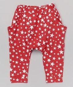 infant harem pants | Red Star Harem Pants - Infant, Toddler & Kids by Leighton Alexander # ...