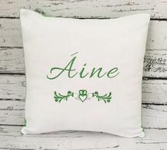 Personalized irish pillow celtic pillow st patricks day pillow personalized irish claddagh pillow celtic pillow irish baby pillow decorative pillow wedding pillow irish baby gifts negle Gallery