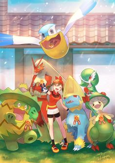 Pokemon Mew, Pokemon Life, Pokemon Manga, Pokemon Comics, Pokemon Fan Art, Cute Pokemon, Pikachu, Pokemon Stuff, Sapphire Pokemon