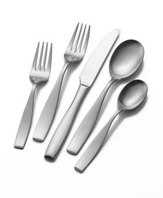 Buy the Mikasa Satin Loft 20-Piece Flatware Set securely online at charingskitcen.com today.