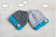Newborn Hat / Newborn Photo Props / Baby by ZucchiniIslandKnits