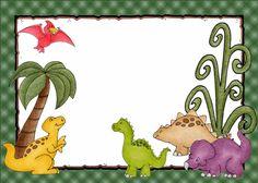 Invitaciónes infantiles de dinosaurios para imprimir - Imagui