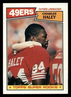 Charles Haley Rookie #125 1987