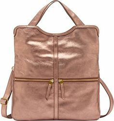 Fossil Erin Tote Copper - #style #accessories #fashion #summertrends #styletips