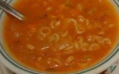 Recette : Soupe aux tomates de maman. Chili Recipes, Soup Recipes, Diet Recipes, Cooking Recipes, Healthy Recipes, Ricardo Recipe, Soup Appetizers, Canadian Food, Diy Food