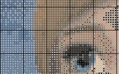 Cross stitch pattern Elsa Frozen Instant Download by NeniDesign