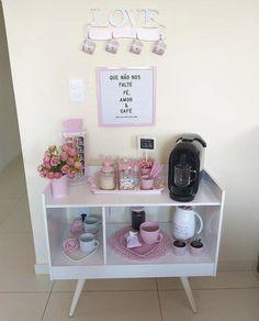 Spa Room Decor, Beauty Room Decor, Cute Bedroom Decor, Teen Room Decor, Home Decor, Home Beauty Salon, Home Salon, Coffee Room, Coffee Bar Home