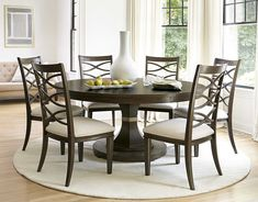 Shop Universal Furniture California Rustic Oak Expandable Round Dining Table  Sale At Zin Home. Crafted Of Rustic White Oak Veneers And Oak Solids  Hardwoods, ...