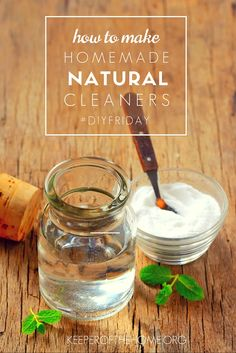 By using simple, homemade natural cleaners, we can eliminate many of the toxins that could otherwise leach their way into our systems. And that is critical, especially in my kitchen!