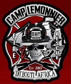 US NAVY Fire Rescue Camp Lemonnier