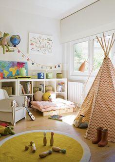 Una habitación creada para imaginar ·
