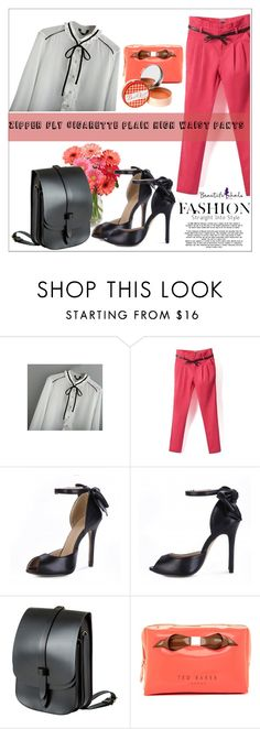 """#10  beautifulhalo"" by allanaaa11 ❤ liked on Polyvore featuring Lost Property of London, Ted Baker, Soap & Paper Factory, bhalo and bhalo2"