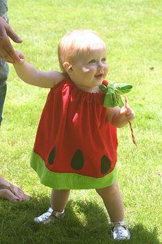 watermelon party dress...yep, we need this
