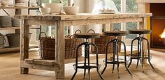 love this table.  love everything on this site...restorationhardware...beauty