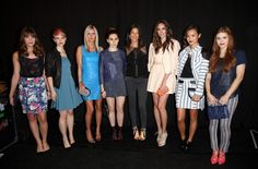 Christa B. Allen, Valorie Curry, Nicky Hilton, Zosia Mamet, Rebecca Minkoff, Louise Roe, Jamie Chung et Holland Roden #NYFW #MBFW #backstage