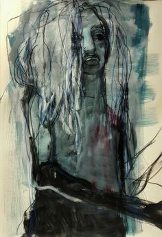 Figure Painting, Painting & Drawing, Expressionist Artists, Modern Portraits, Knit Art, French Artists, Life Drawing, Contemporary Paintings, Figurative Art