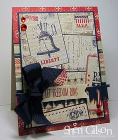 Let Freedom Ring, TPE201 by PaperCrafty - Cards and Paper Crafts at Splitcoaststampers