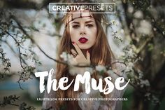 "20 Romantic & Dreamy Lightroom Presets for Photographers ""The Muse"" Photoshop Actions, Lightroom Presets, Modern Portraits, Urban Landscape, Professional Photographer, A Team, Muse, Graphic Design, Creative"