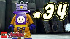 LEGO Marvel's Avengers ITA Avventura Mattoncini #34 - Arnim Zola - PS4 X...
