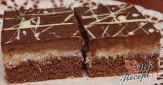 Jednoduchý a vynikající zákusek plněný čokoládovým a kokosovým krémem. Měli byste vyzkoušet, určitě stojí za to!