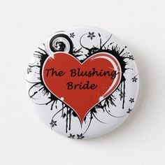Shop The Bridesmaid Pinback Button created by Mrscookie. Custom Badges, Custom Buttons, Blush Pink Weddings, Anniversary Quotes, Love Messages, Little Sisters, Groom, Bridesmaid, Create