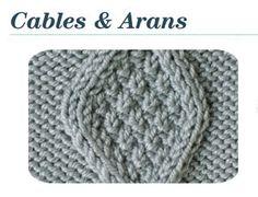 knit stitch, diamond cabl, stitch patterns