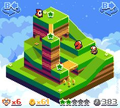 If Captain Toadwas a Game Boy Color release⊟ Artist Johan Vinet managed to make this already lovely game look even more charming, somehow! This reminds me a bit of Goodbye Galaxy Games' Flipper for DSiWare. Someone make this and release it to eShop, please. I meant to mention it a while back, but Johan, Austin Ivansmith, and flashygoodness released a fun action game recently called Super Secret Service. It's available for iOS and Android now. Check out some of its pixel art and ...