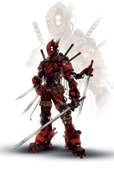 Robot Deadpool | Justin Currie