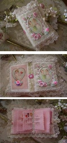 Like this idea for needle book! :)