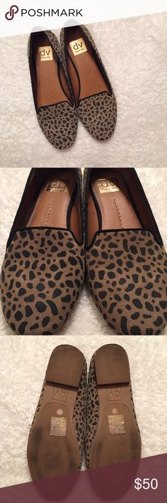 Dolce Vita Animal Print Loafer - 8 Animal Print Calf Hair Loafer by Dolce Vita. Worn only once because they are slightly big on me! I'm a 7.5/8 and these are an 8 for reference. Best fit true size 8. Like new condition! Dolce Vita Shoes Flats & Loafers