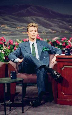 jewpizzah:  Black tie white noise Bowie 1993
