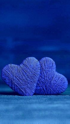 Hearts of blue. Our hearts can feel blue when we are sad or depressed. What color is your heart today? Kind Of Blue, Love Blue, Blue And White, Heart Wallpaper, Love Wallpaper, Computer Wallpaper, Blue Wallpapers, Wallpaper Backgrounds, Everything Is Blue