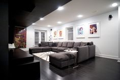 U Shape Sectional Sofa Design Ideas, Pictures, Remodel, and Decor